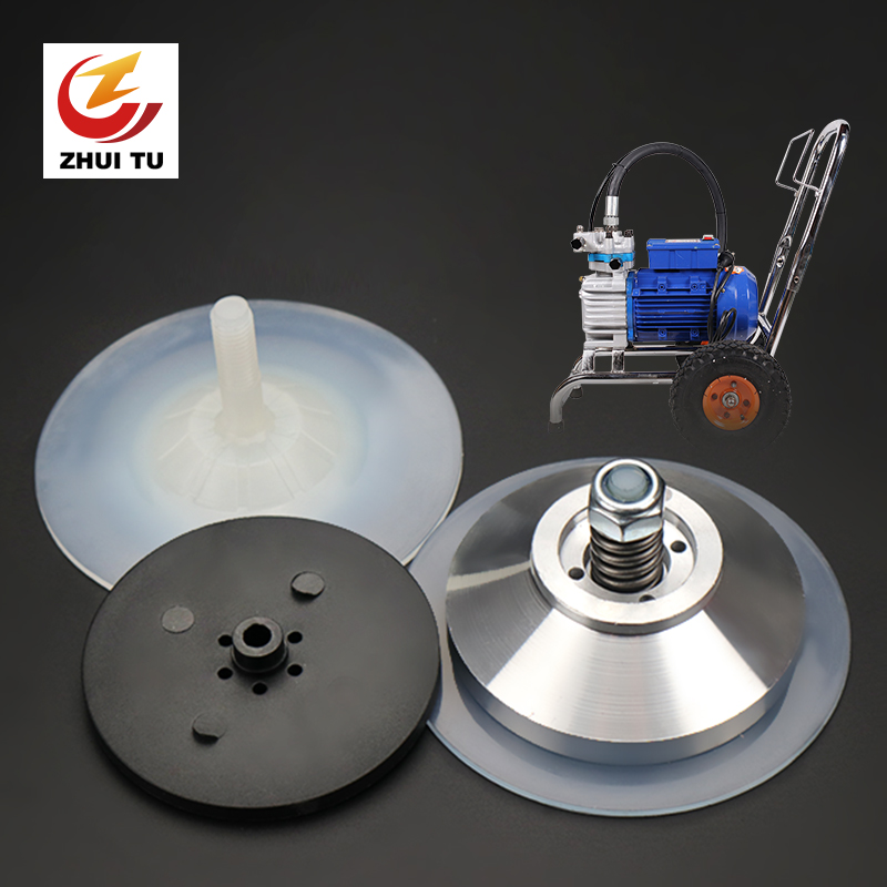 ZHUI TU Airless Spraying Machine Diaphragm Assembly Paint Coating Latex Paint 980 995 895 Airless Sprayer Diaphragm Piece/Liner