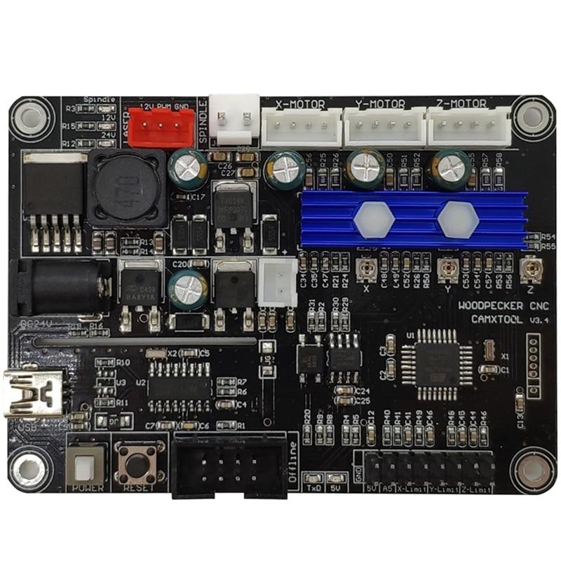 CNC Mini Engraving Machine Controller Board 3 Axis GRBL USB Port Engraver Control V3.4 For CNC3018 CNC 3018PRO