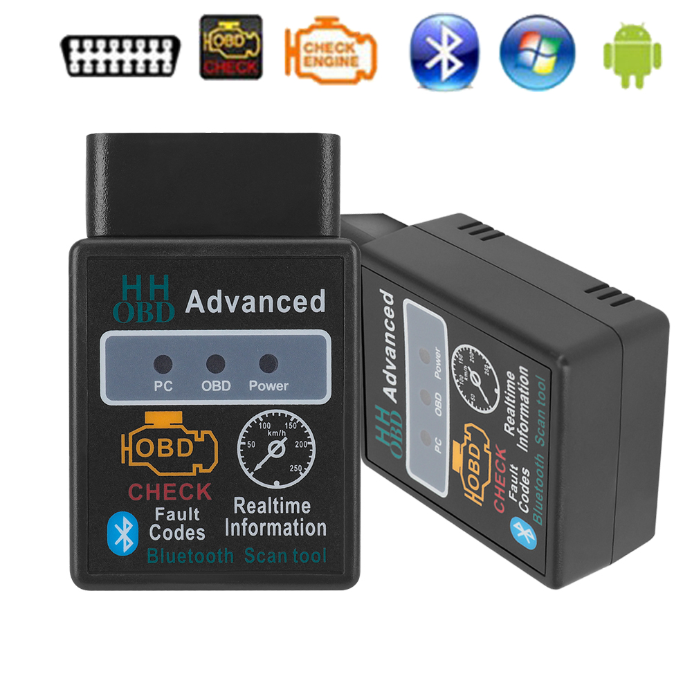 Moc MIni ELM327 dla jaguara XF XE X250 F-PACE F-TYPE XK X150 s-type x-type X400 Bluetooth V2.1 HH OBD sprawdź czytnik silnika