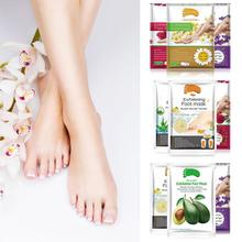 2pcs/bag Lavender Moisturizing Foot Mask Foot Film Exfoliati