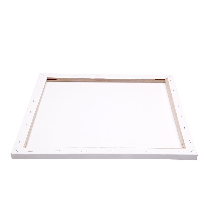 2021 New White Blank Square Artist Canvas Wooden Board Frame For Primed Oil Acrylic Paint