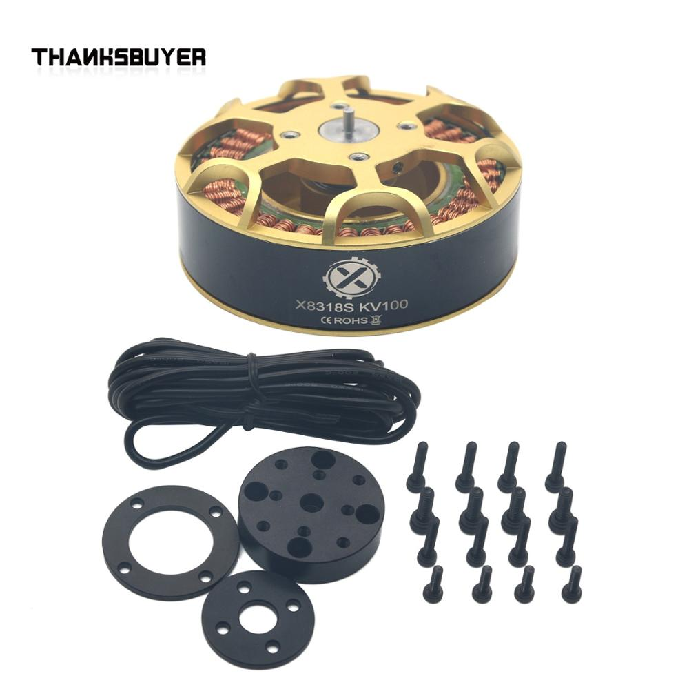 (HLY)X8318S Brushless Motor KV100 KV120 Multi-axis 36N40P for FPV Racing Drone Multicopter