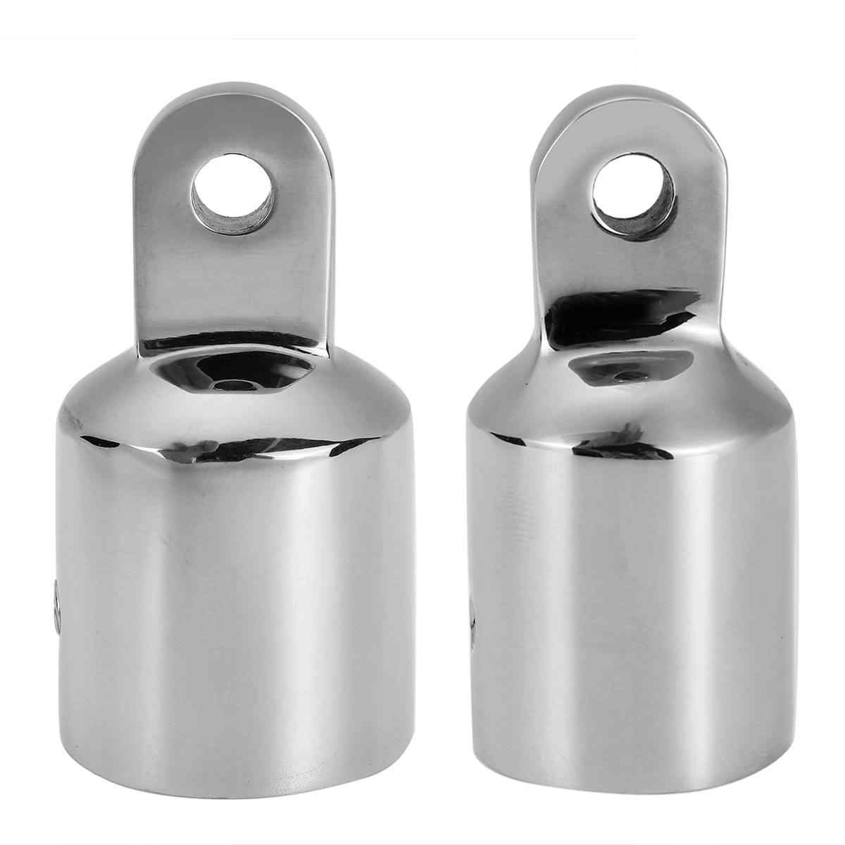 22mm Stainless Steel Hinged Connector Boat Rail Hood Fitting Hardware  .☆a