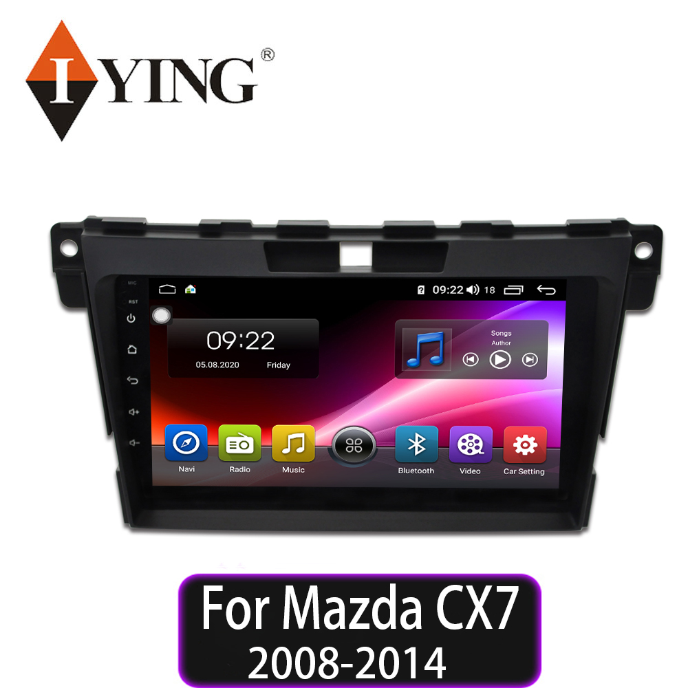 IYING For Mazda CX7 CX 7 CX 7 2008 2014 Car Radio Multimedia Video Player Navigation GPS Android 9 autoradio 8 core No 2din dvd|Car Multimedia Player|   - AliExpress