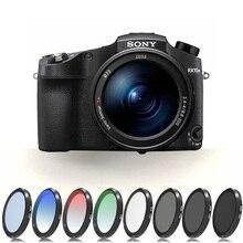 เลนส์สำหรับ Sony RX100M1/M2/M3/M4/M5 GND8 ND2/4/8/ 16/32 สี UV สำหรับ Sony RX 100 I/II/III/IV/V Neutral ความหนาแน่น Filtor ชุด
