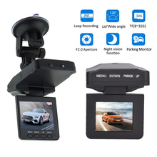 Car-Dvr-Driving-Recorder Lcd-Display Night-Vision Rotatable FHD LED 6 270-Degree Wide-Angle