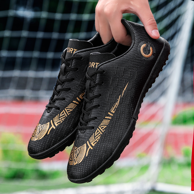 Outdoor Soccer Shoes Original Men Football Boots Soccer Cleats Shoes Breathable Nonslip Training Sneakers Turf Futsal Trainers