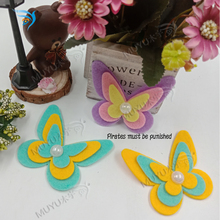 Beautiful butterfly  moulds die cut accessories wooden Regola Acciaio Die Misura MY7744