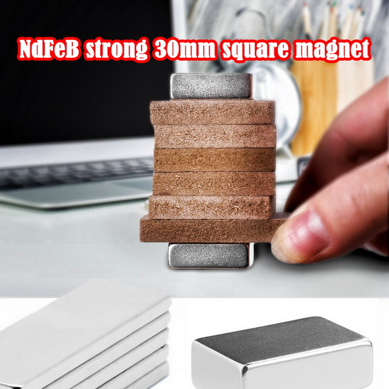 2//10//50pcs Strong Block Cuboid Magnets Rare Earth Neodymium 10 x 10 x 5 mm N50