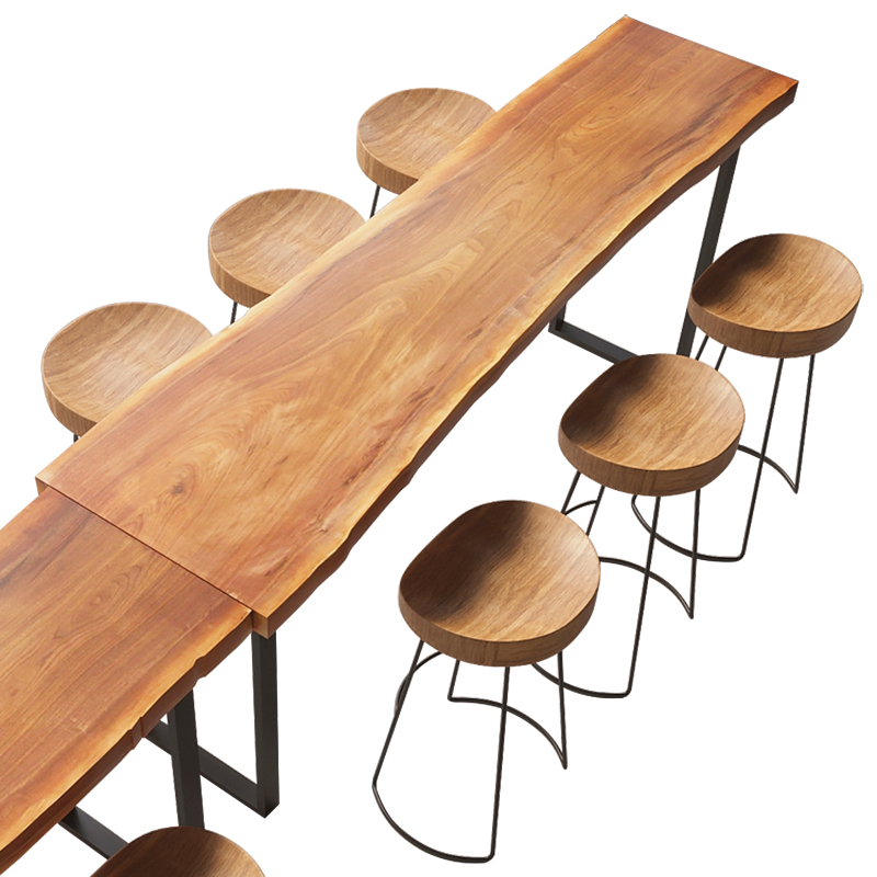 Bar Table Solid Wood Household   Balcony  Creative Coffee