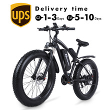 Fat Bike Electric-Mountain-Bike Lithium-Battery Beach 1000W 48v