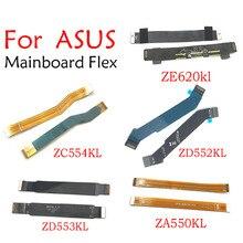 5pcs 메인 플렉스 케이블 Zenfone 3 4 5 ZC520KL ZC550KL ZE620kl ZE553KL ZB601KL ZC554KL ZA550KL ZD552KL ZD553KL 연결 메인 보드