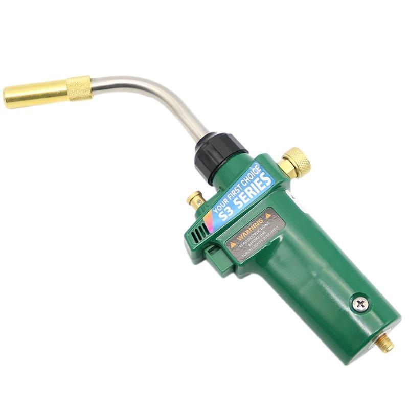 Сварочная горелка Mapp Пропан газовая горелка самозажигание W триггер стиль Cga600 горелка для нагревания припоя