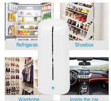 Ozone Air Purifier Fresh Deodorizer Fridge Food Fruit Vegetables Shoe Wardrobe Car O3 Ionizer Disinfect Sterilizer