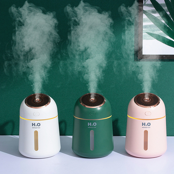 Aromatherapy Humidifier Diffuser 330ml USB Aroma Essential Oil Diffuser Ultrasonic Air Humidifier For Home Office Car Portable car aromatherapy diffuser humidifier 300ml mini aroma essential oil diffuser portable ultrasonic air humidifier for home office