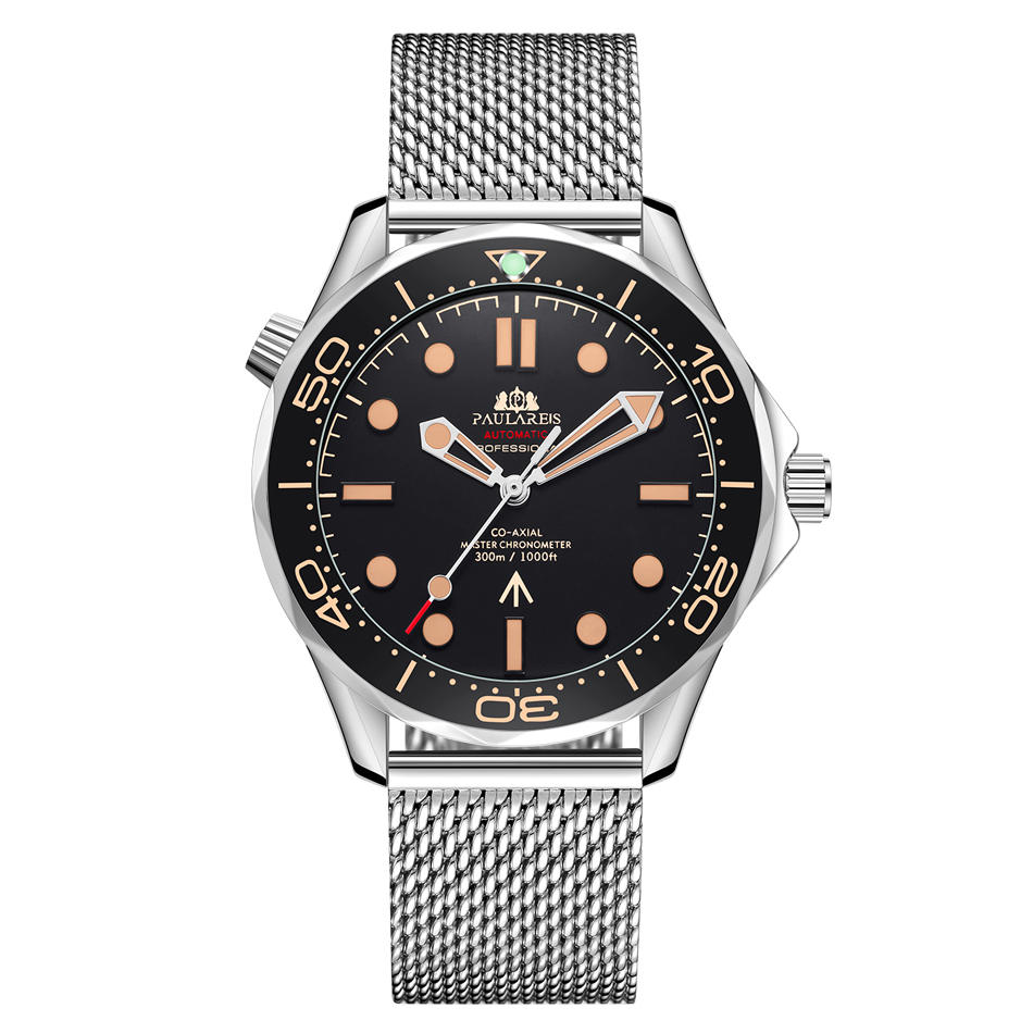 Strap Mechanical-Net Limited-Watch Stainless-Steel Nylon Automatic Luxury New Self-Wind