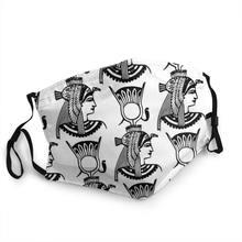 Mitologia egípcia antigo egito deuses atum horus osiris mascherina lavabili símbolo moda máscara facial