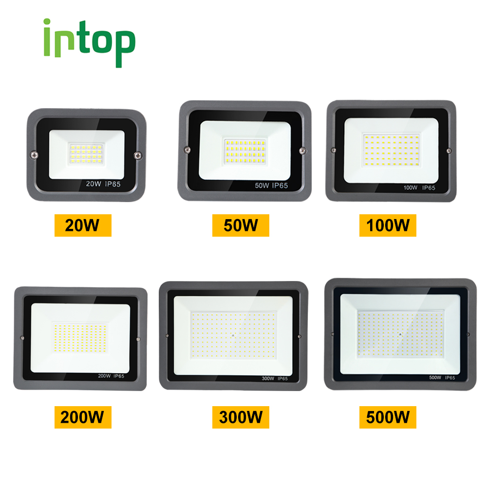 Led Spotlight 10W 20W 30W 50W 100W 150W 200W 300W 500W Foco Led Spot Light Ip65 Waterproof 220V Outdoor Spotlights Refletor