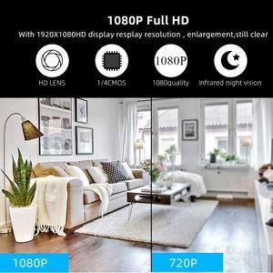 Image 5 - 1080P אלחוטי מיני WiFi מצלמה אבטחת בית מצלמה מעקבים IR ראיית לילה Motion לזהות תינוק צג P2P