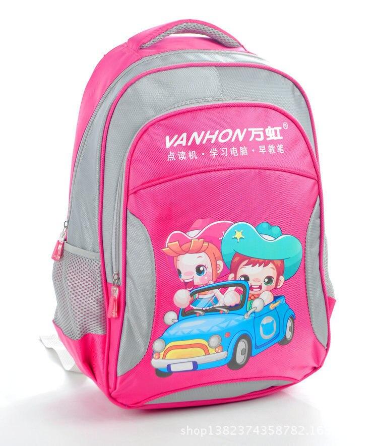CHILDREN'S School Bag Customized Schoolbag For Elementary School Students Cartoon Schoolbag BOY'S And GIRL'S Universal Students
