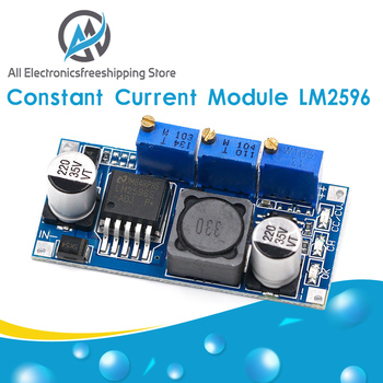 LM2596S DC-DC Constant Current Module LM2596 7V-35V Step-down Adjustable CC/CV Power Supply - discount item  27% OFF Electrical Equipment & Supplies