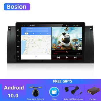 Bosion 9 1 DIN Android 10 CAR RADIO for BMW E39 E53 X5 M5 car audio stereo receiver auto radio tape recorder no 2din 2 din DVD image