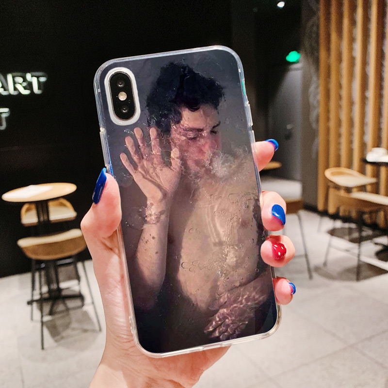 Soft Silicone Luxury Phone Case For iPhone 8 7 Plus Behavior Art Photo Transparent Case For iPhone XR 6 6S Plus SE XS MAX Cover
