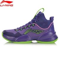 (Código de quebra) li-ning men power v profissional sapatos de basquete forro li ning nuvem almofada sapatos esportivos tênis abap025 xyl235