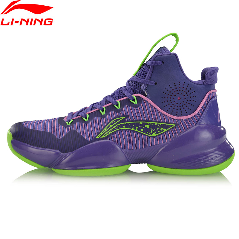 Li-Ning Men POWER V Professional Basketball Shoes Wearable LiNing li ning Cloud Cushion Sport Shoes Sneakers ABAP025 XYL235