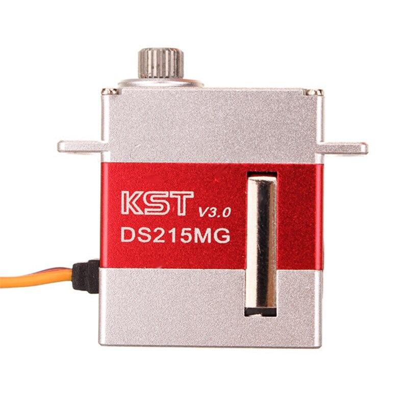 KST DS215MG V3.0 Digital Coreless Swashplate CNC Servo For 450 380 480 500 RC Helicopter