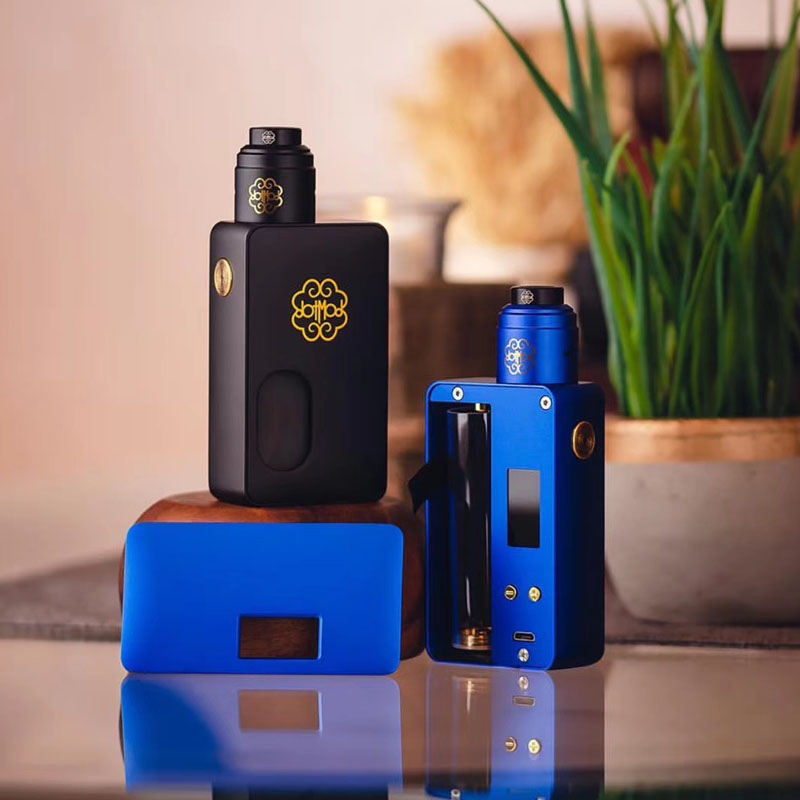 Original Dotmod Dot Mod Squonk 100w Electronic Cigarettes Box Mod Kit With DotRDA 24mm V1.5 Dotmod RDA
