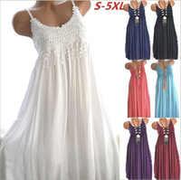 Casual Cotton Dress Tassels Lace Patchwork A Line Mini Loose Women Beach Dresses Purple White Red Blue Vestidos Vintage Ladies