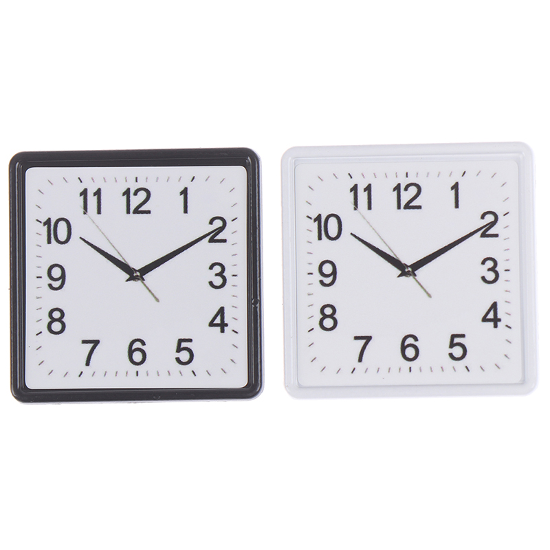 <font><b>1</b></font>:<font><b>12</b></font> Resin Dollhouse Miniature Wall Clock Play <font><b>Doll</b></font> <font><b>House</b></font> Miniaturas Home Decor <font><b>Accessories</b></font> Toy Pretend Furniture Toy image