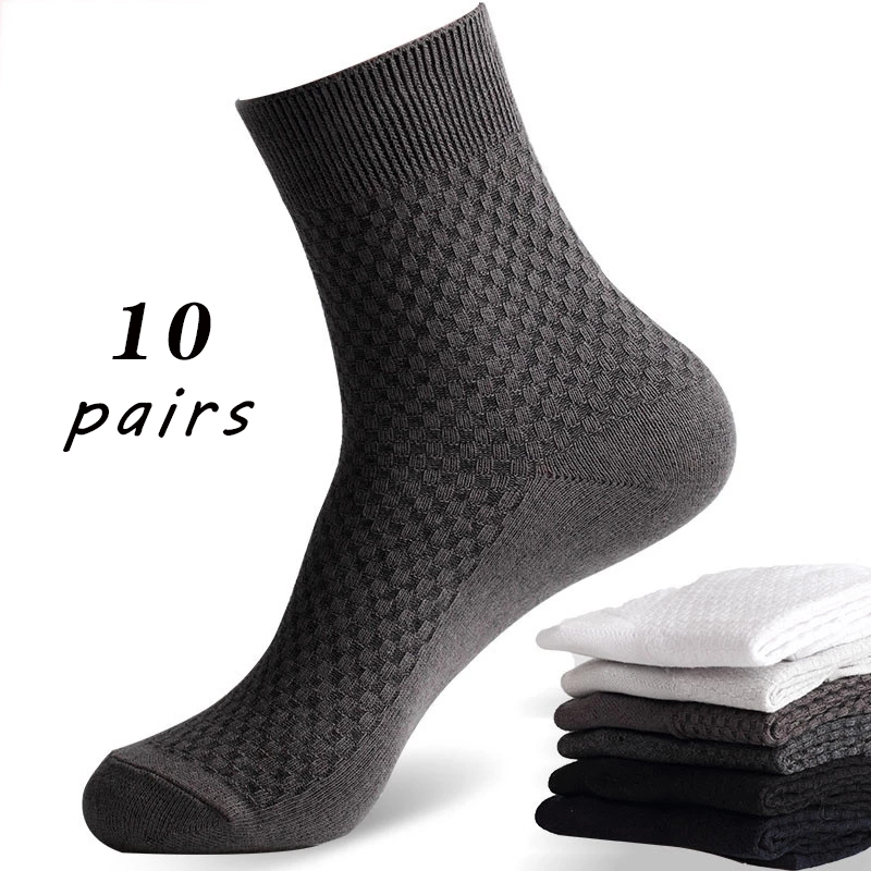 size36-50 Business men socks bamboo fiber Cotton sock Suitable for spring, summer and autumn models Strong elasticity Youth sock