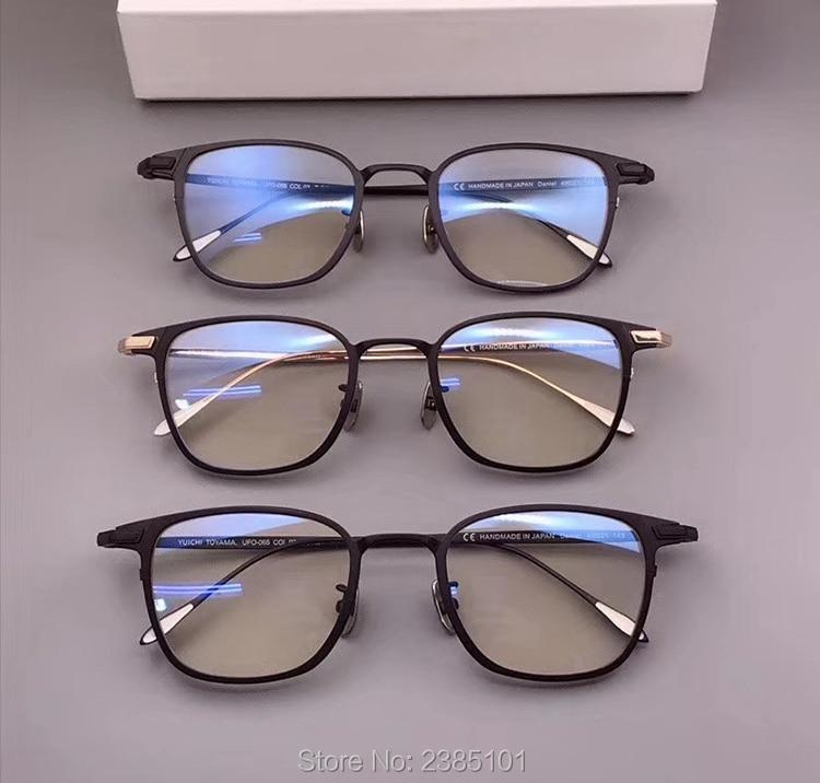 2020 Pure Titanium square Eyeglasses Frame Optical Frames Unisex Glasses Retro Eyeglasses Prescription Men myopia frames Reading