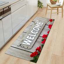 Фланелевые противоскользящие искусственные коврики для гостиной