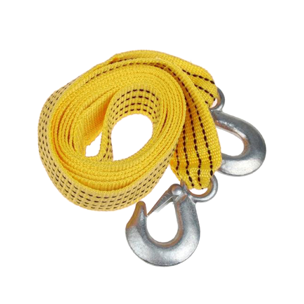 3M Durable Portable Outdoor Practical Nylon Emergency Kit Winch Cable Car Tow Rope For Car Truck Hooks Van Road Recovery A30