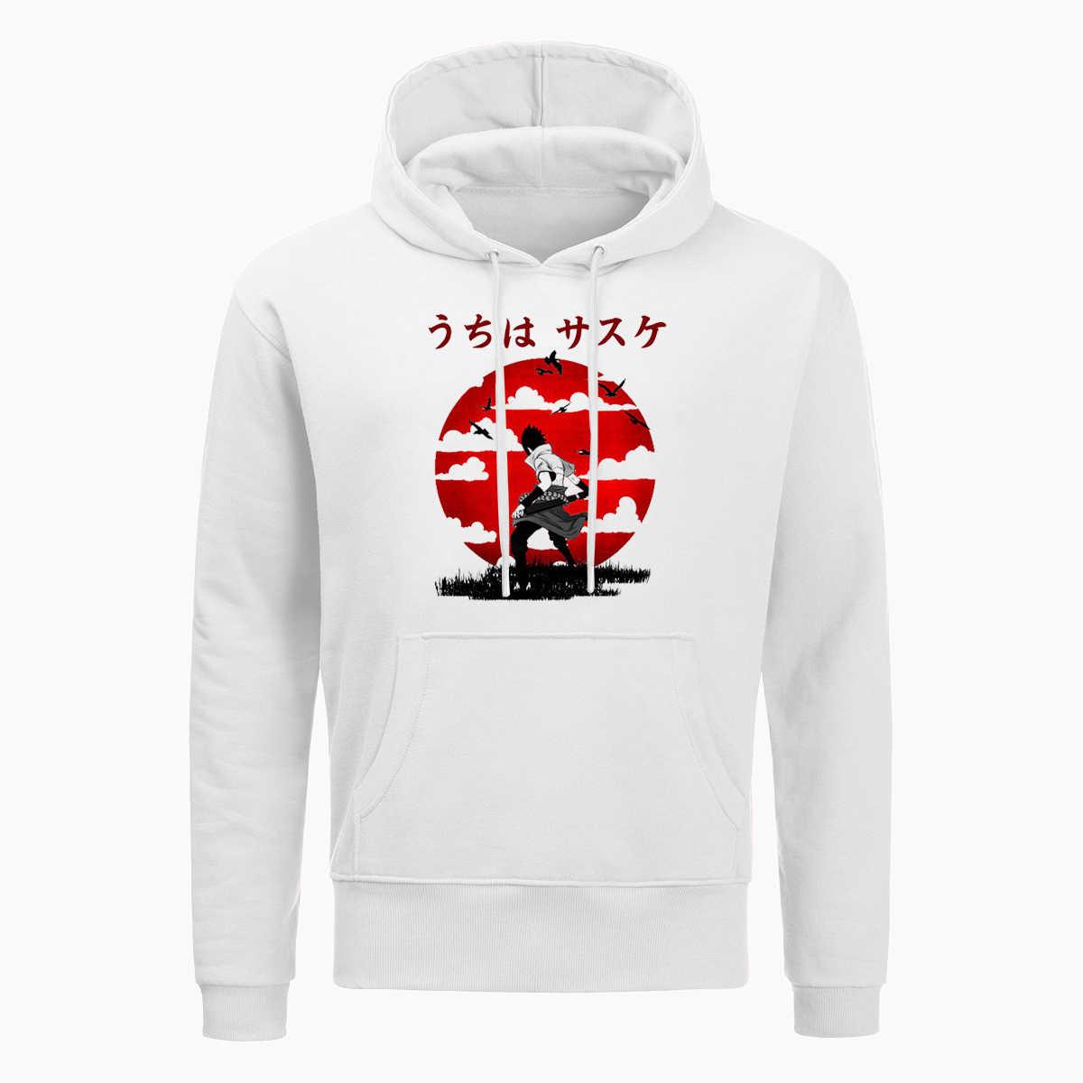 Harajuku Naruto Uchiha Sasuke Itachi Hoodies Männer Japan Anime Hoodie Lustige Sunset Sweatshirt Winter Fleece Pullover Hip Hop Tops