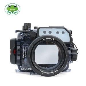 Image 4 - Seafrogs 60 m/195ft Custodia Subacquea per Sony DSC RX100 (I V) M2 M3 M4 M5