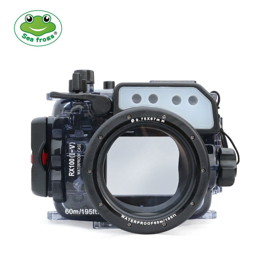 Image 4 - Seafrogs 60m/195ft Underwater Camera Housing for Sony DSC RX100(I V) M2 M3 M4 M5Camera/Video Bags   -
