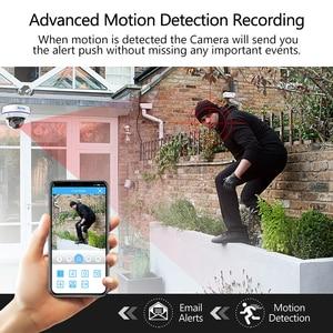 Image 4 - Techage H.265 8CH 5MP POE NVR CCTV System Vandalproof 5MP Indoor Dome Audio IP Camera P2P Remote Video Security Surveillance Set