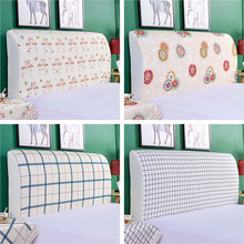 Modern Headboard Cover Dustproof Head Cover High Elastic Bed Dust Protective Cover Soft All inclusive Head