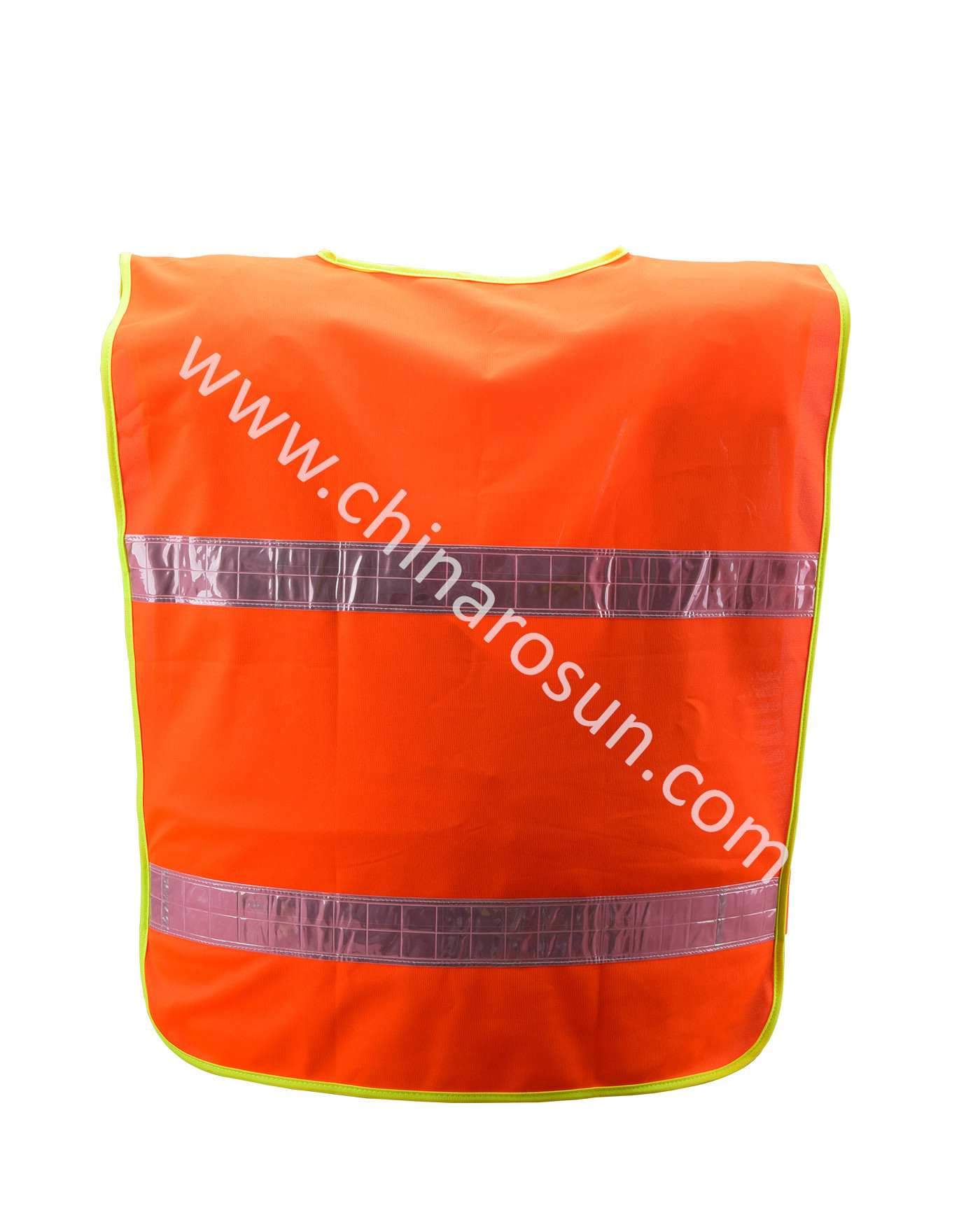Manufacturers Reflective Vest Red Waistcoat Sanitation Safety Clothing Pullover Waistcoat Architecture Construction Traffic Mult