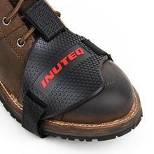 Мотоциклетная обувь защитный переключатель передач мотоцикла обувь сапоги протектор Мотоциклетный Ботинок крышка Защитная Шестерня Shift Pad