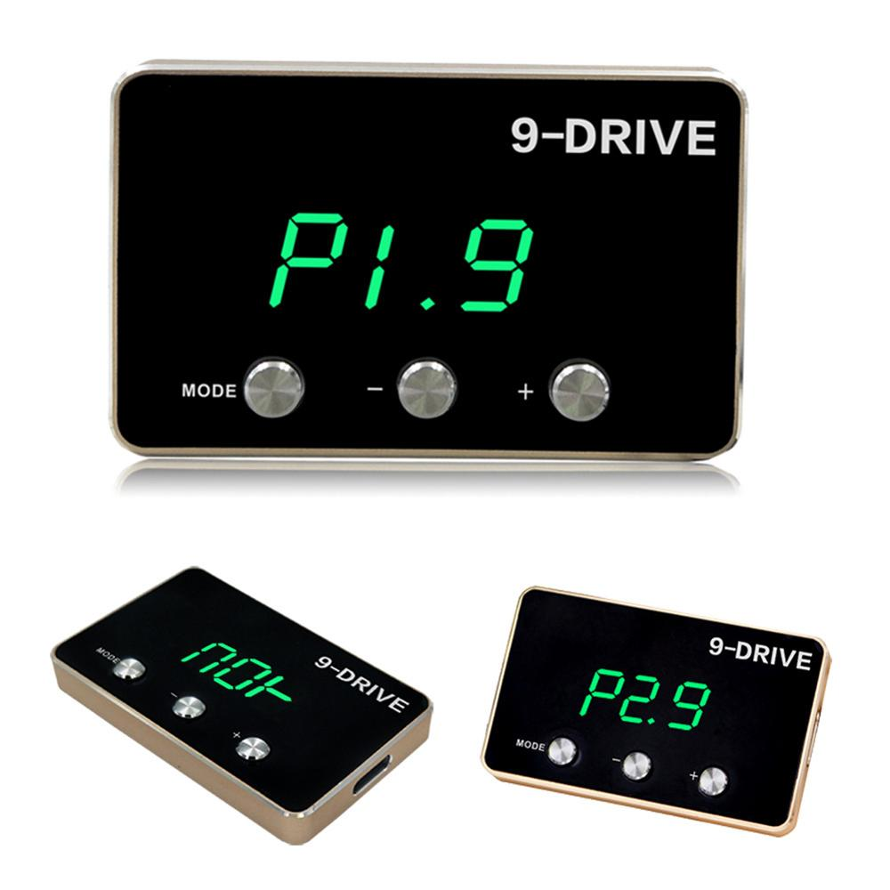 2020 Hot New 9 Drive Electronic Throttle Controller Car Sprint Booster Power Converter Auto Accessories for 07-18 Jeep Wrangler