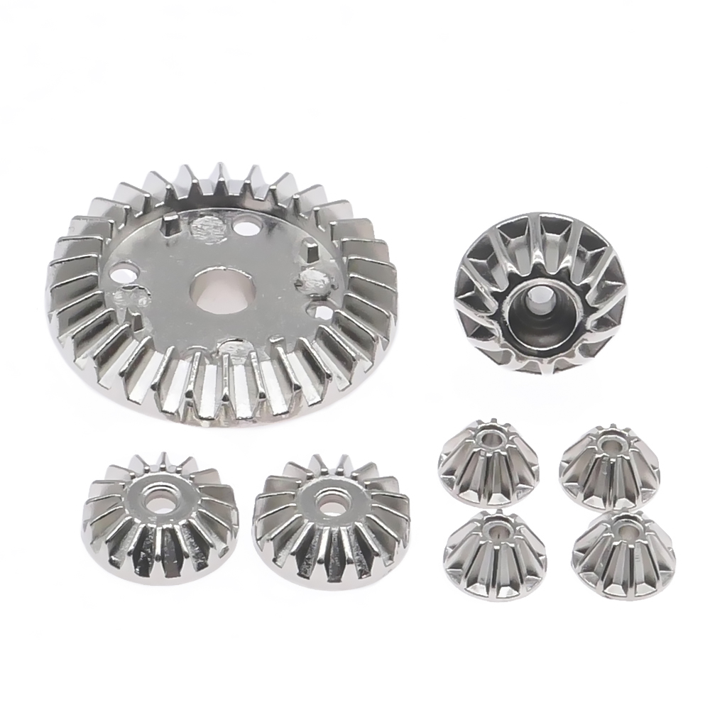 #45 steel front or rear differential gear set for rc hobby model car 1-14 Wltoys 144001 buggy option hop-ups parts image