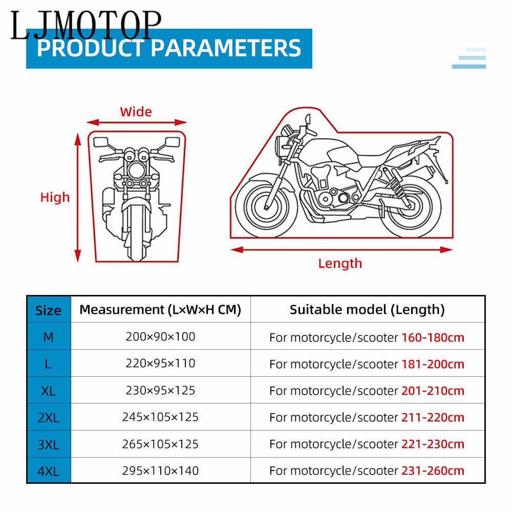 Для BMW K1600 GT GTL R1200 R RT S ST S1000 R RR XR чехол для мотоцикла универсальный наружный УФ-скутер водонепроницаемый дождевой пылезащитный чехол
