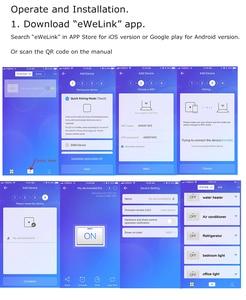 Image 5 - 25A eWeLink WiFi Smart Stroomonderbreker Automatische Schakelaar overbelasting kortsluiting, werken met Amazon Alexa Google thuis