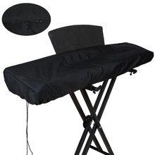 Housse pour instruments de clavier, 61/88 touches, protection électronique pour Piano sur scène, anti-poussière, anti-saleté, avec cordon de serrage