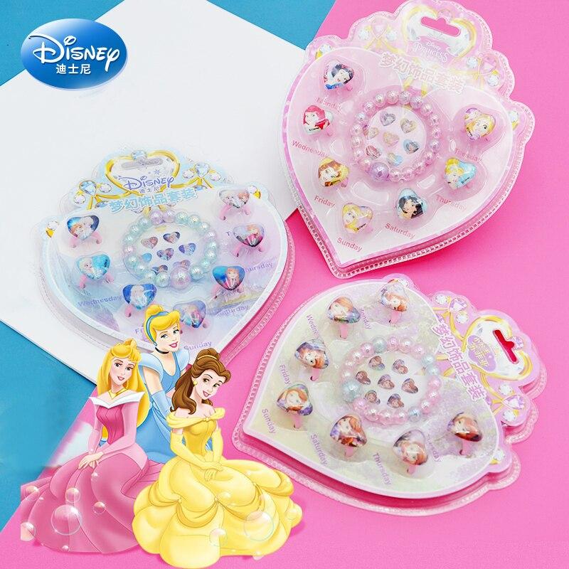 Оригинальные бриллиантовые стикеры Disney с надписью «Холодное сердце» для ролевых игр и макияжа для девочек, набор бижутерии в стиле пони, Со...